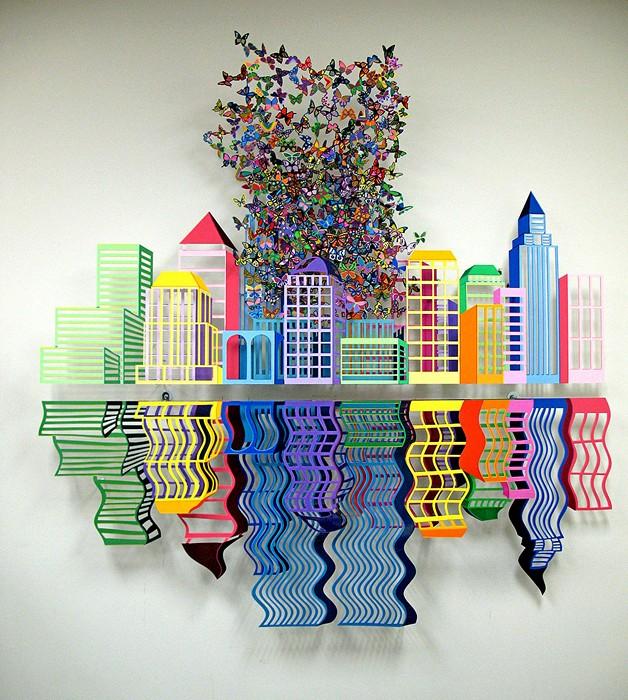 Удивительные скульптуры из полимерной глины от Дэвида Крэков (David Kracov)
