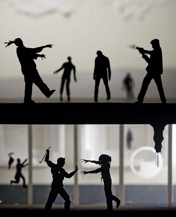 Бумажные персонажи в постановках Дэвида Ривза