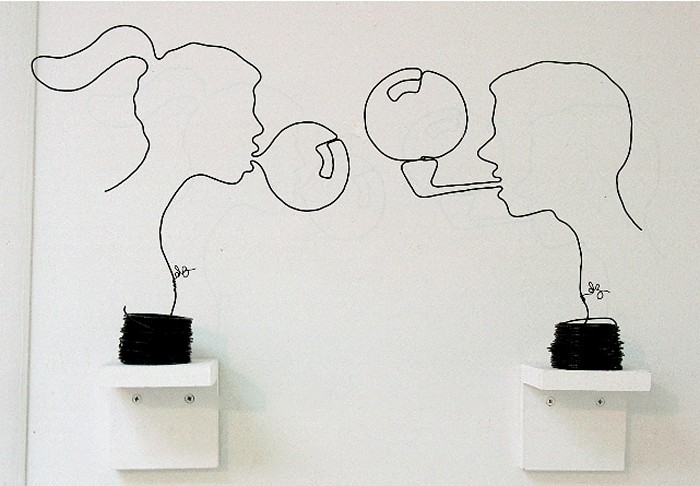 Проволочные скульптуры Дэвида Залбена (David Zalben)