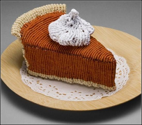 Еда из макраме в исполнении Эда Бинг Ли (Ed Bing Lee)
