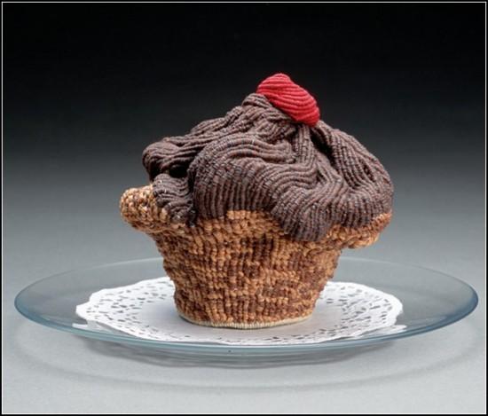 """Delectables "": деликатесы из макраме.  Работы Эда Бинг Ли (Ed Bing Lee)"