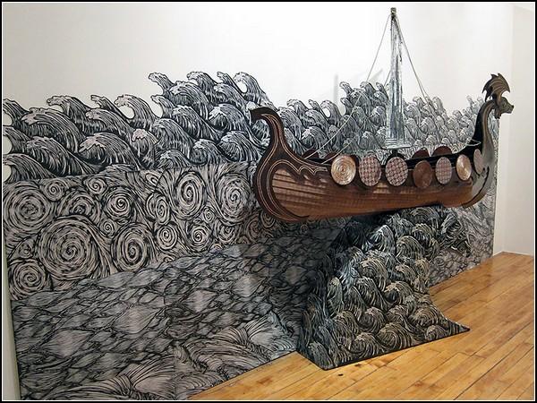 Мифология и викинги в творчестве Дэнниса Макнетта (Dennis McNett)
