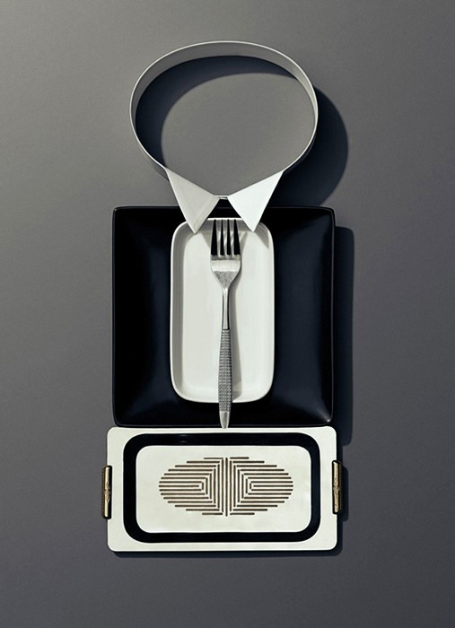Ужин по этикету, фотопроект от Scott Newett и Sonia Rentsch