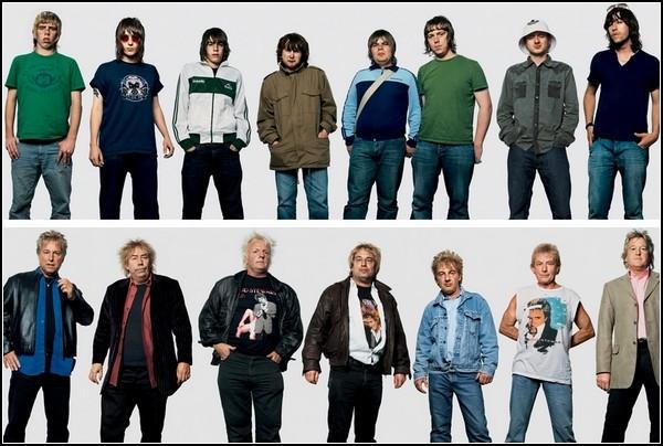 Oasis и Rod Stewart
