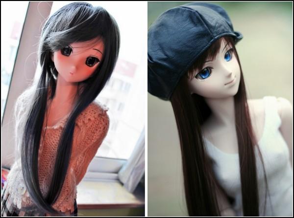 Аниме-малышки из серии Dollfie Dream