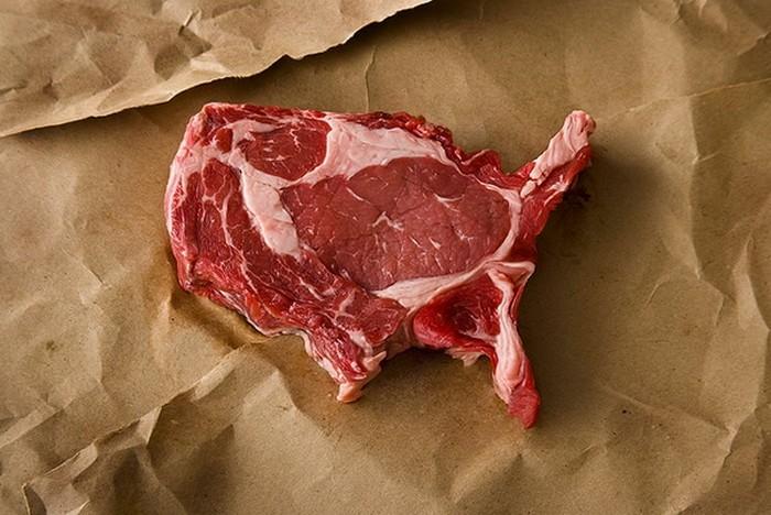 Образы Америки в проекте Meat America