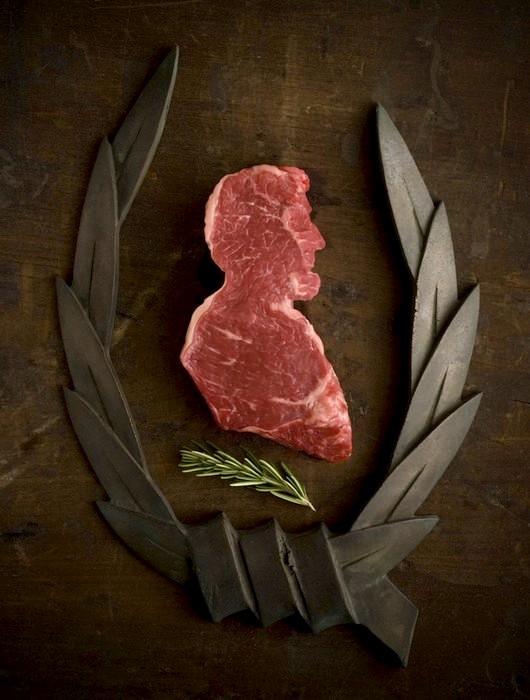 Авраам Линкольн в проекте Meat America