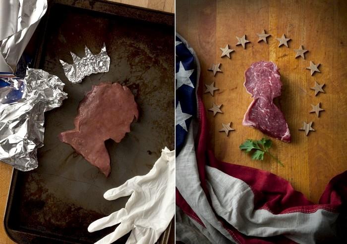 Америка из мяса. Арт-проект Meat America от Доминика Эпископо