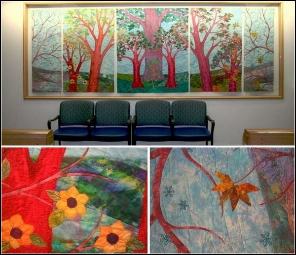 Картины из ткани от Эйлин Доути (Eileen Doughty)