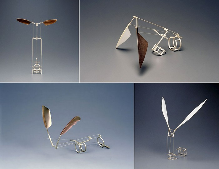 Кольца с крыльями. Кинетические скульптуры Дукно Юна (Dukno Yoon)