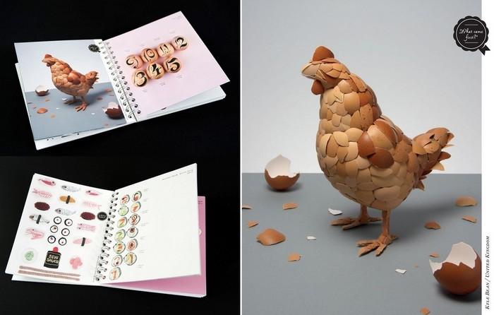 EAT! Design with Food. Аппетитный арт-календарь, посвященный еде и дизайну