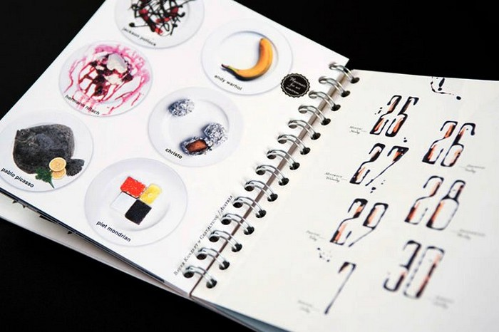 Творческий календарь - творческий подход к оформлению блюд