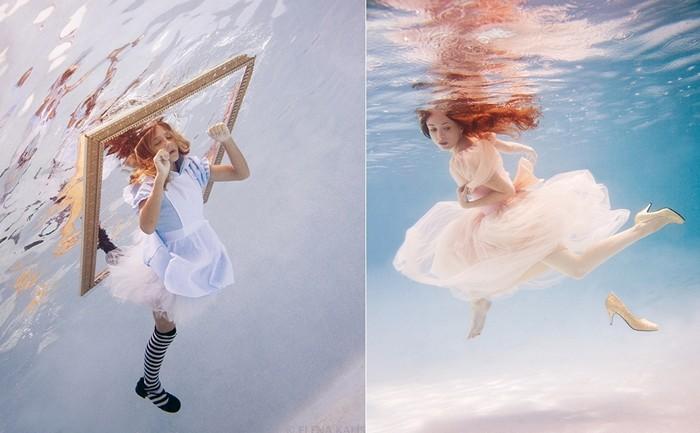 Фантастические арт-проекты подводного фотографа Елены Калис