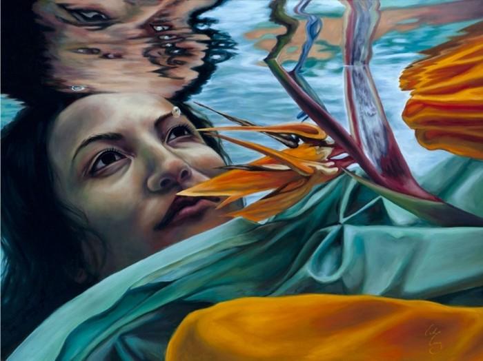 Водяные феи и нимфы в картинах Эрики Крэйг