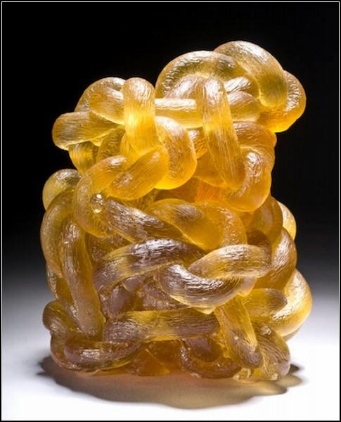 Glass Knot. Стеклянное вязание Эрвина Тиммерса