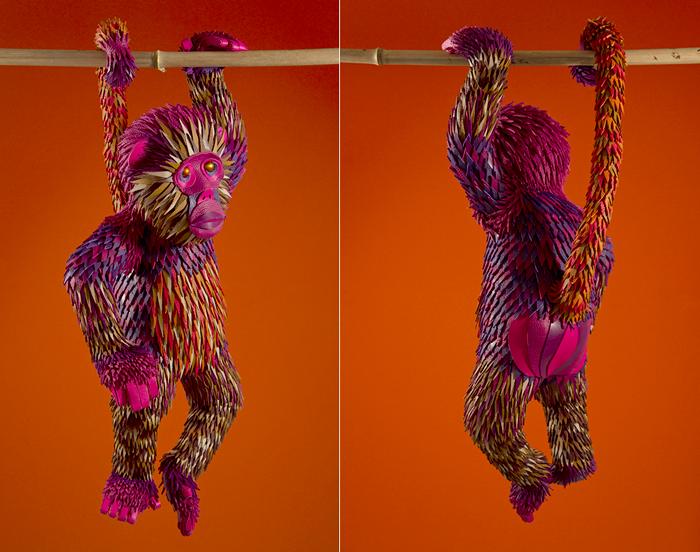 The Eternal Jungle от студии Zim&Zou. Джунгли из кусочков кожи