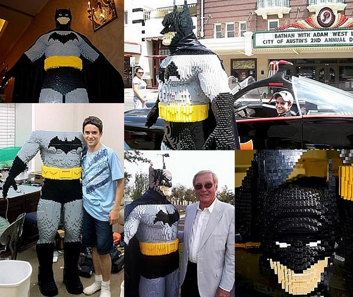 Бэтмен из кирпичиков Лего за авторством 13-летнего техасского подростка