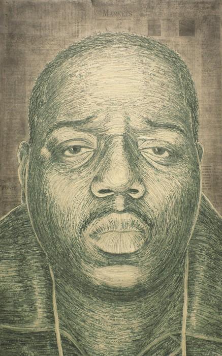 Портреты политиков из измельченных банкнот. Картины от Evan Wondolowski