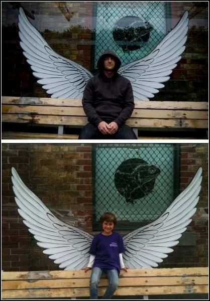 Арт-проект Everyday Angels в помощь обездоленным людям Оклэнда