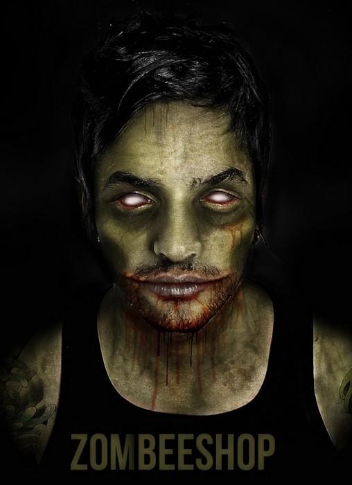 Лукас Сильвейра в арт-проекте Famous Zombies