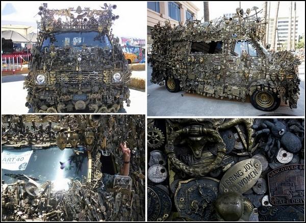 Фургон California Fantasy Van находится в музее арт-автомобилей в Аризоне