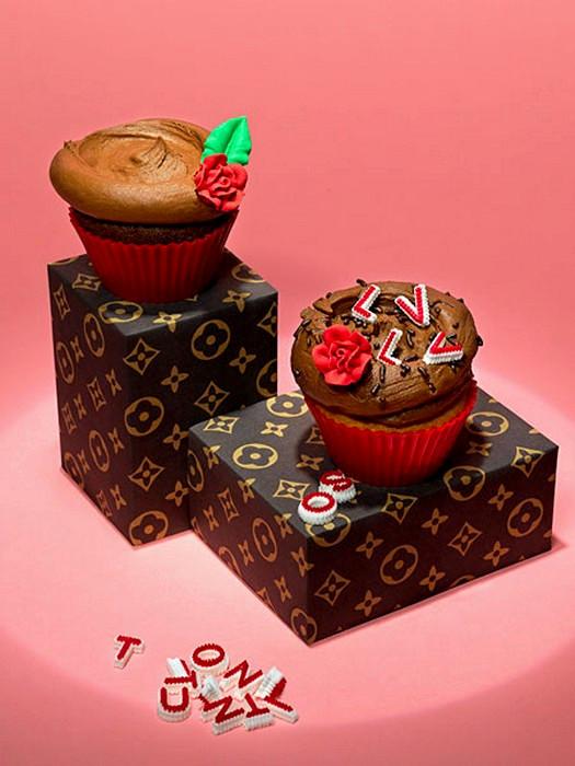 Дизайнерский кекс в стиле Louis Vuitton от  Лайзы Эдсальв (Lisa Edsalv)