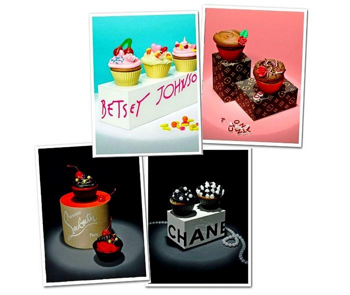 Кексы в стиле знаменитых модных брэндов от Лайзы Эдсальв (Lisa Edsalv)