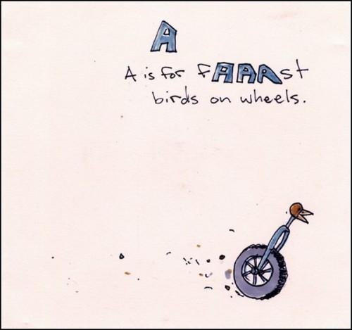 Суровая сюрреалистическая азбука от Fionn McCabe