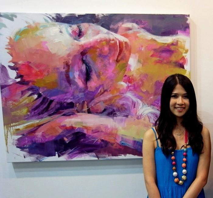 Картины тайваньской художницы Пейхан Хуан о цветочных похоронах Барби