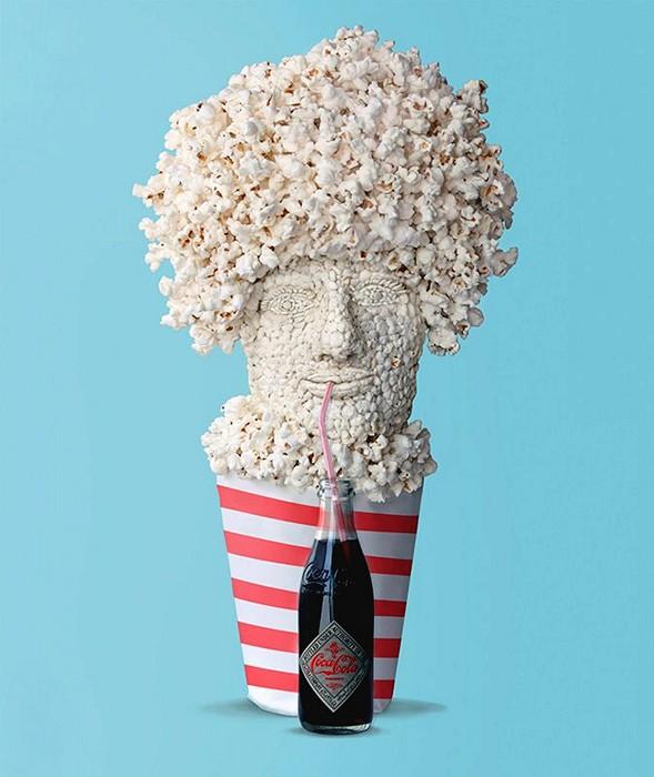 Фруктовый арт-проект Food Objects. Скульптуры Дэна Крету