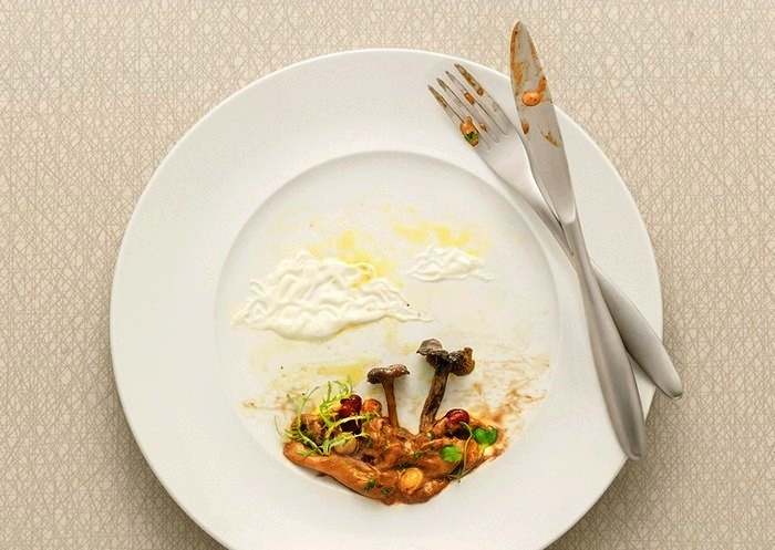 Foodscapes, рекламный фотопроект Александера Криспина (Alexander Crispin)