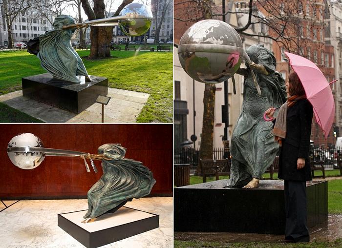 Force of Nature. Мать-природа в скульптурах Lorenzo Quinn