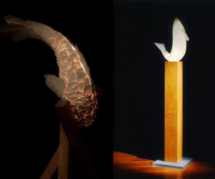 Fish Lamps: скульптуры-светильники знаменитого Фрэнка Гэри (Frank Gehry)