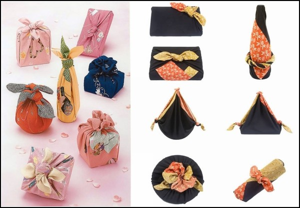 Furoshiki, от банного коврика к креативной упаковке