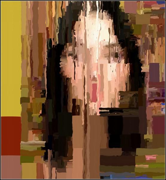 Портреты художника-программиста, напоминающие привидений