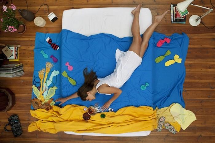 Girl`s Dreams, серия мечтательно-сонных фотографий на фон Холлебен (Jan von Holleben)