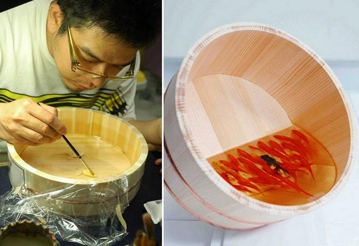 Goldfish Salvation, трехмерные рыбки от Риусуки Фукахори (Riusuke Fukahori)