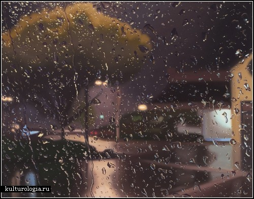 Gregory Thielker. Художник, что рисует дождь