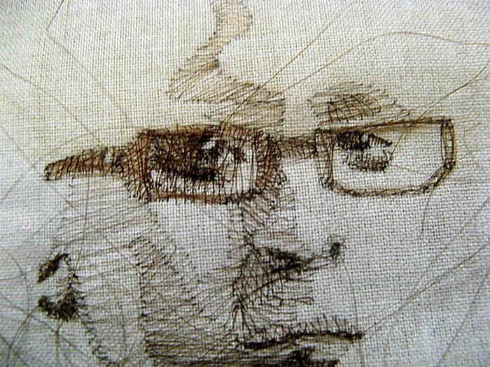 Портреты, нарисованные волосами. Творчество Заиры Пулидо (Zaira Pulido)