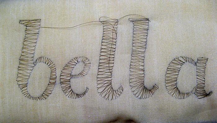 Вышивка волосами. Удивительное искусство Hair Embroidery