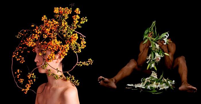Цветы, овощи и люди. Арт-проект Hanayui от художника Takaya.