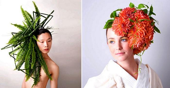 Цветы, овощи и люди. Арт-проект Hanayui от художника Takaya