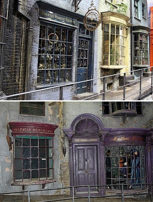 Тематический парк Гарри Поттера откроется весной 2012 года