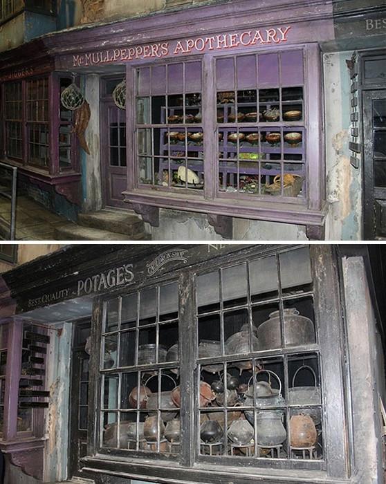 Поклонники Гарри Поттера смогут побывать в школе Хогвартс и Косом переулке