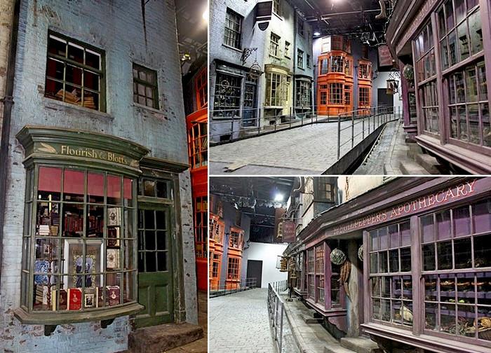 Будущий тематический парк, посвященный приключениям Гарри Поттера