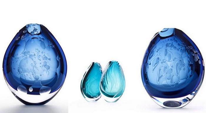 Богемское стекло с гравировкой. Хрупкие произведения искусства от Хизер Гиллеспай (Heather Gillespie)