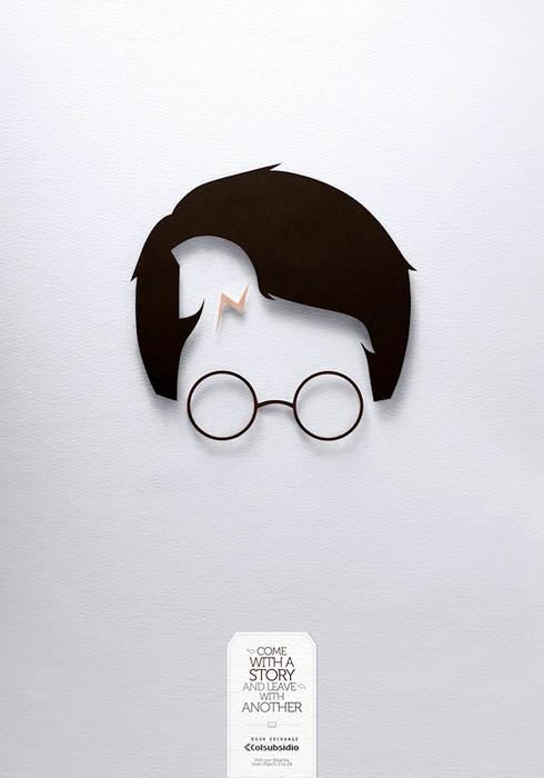 Гарри Поттер и Троянский конь. Творческая реклама книжного обменника Colsubsidio Book Exchange