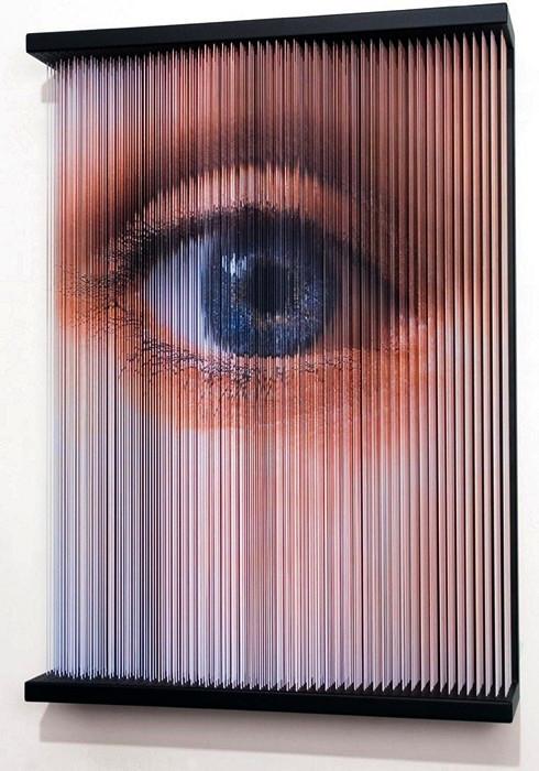 String Mirrors. Трехмерные скульптуры из натянутых струн