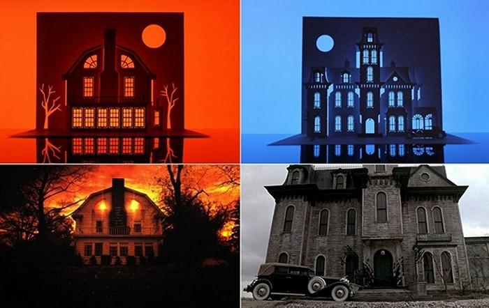 Horrorgami  по мотивам фильмов «Ужас Амитивилля» (The Amityville Horror) и  «Семейка Аддамс» (The Addams Family)