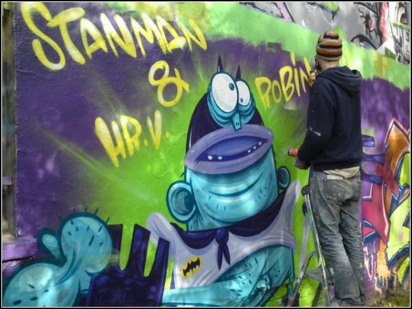 *Хулиганские* граффити от Hr.v.Bias